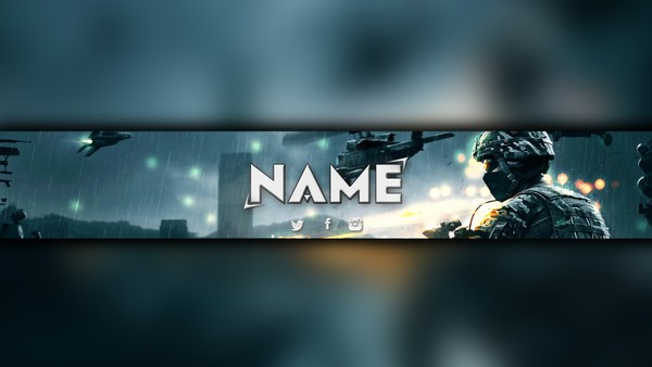 Gaming YouTube Channel Banner by Celpo