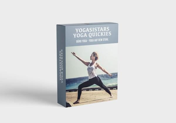 Yoga Quickies - Büro Yoga - Yoga auf dem Stuhl