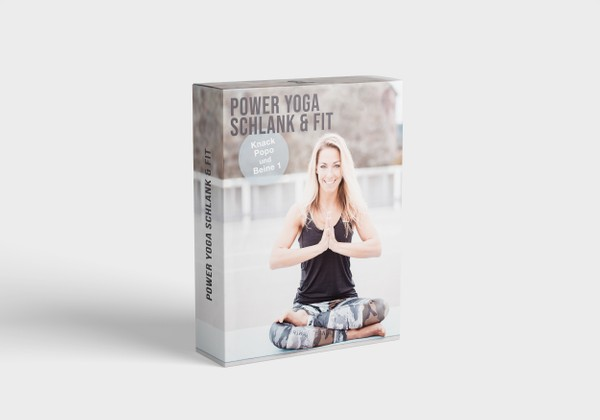 Power Yoga schlank & fit - Knack Popo & Beine 1