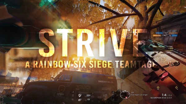 STRIVE RELOADS RB6 TEAMTAGE Project File (After Effects)
