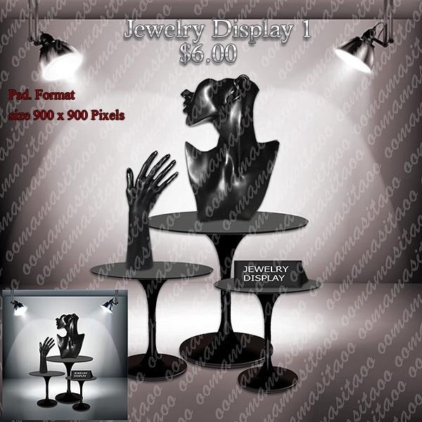 Jewelry Display Pack 1