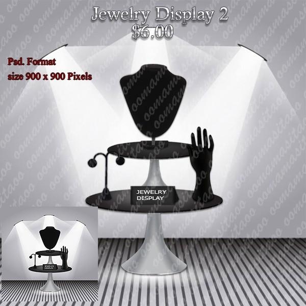 Jewelry Display Pack 2