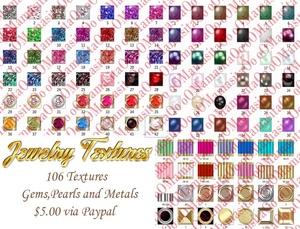 Jewelry textures