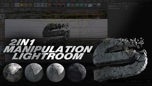 2in1 Manipulation Lightroom