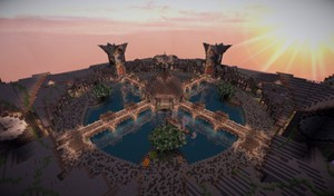 Minecraft Hub - Atlantis