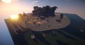 Minecraft Spawn/Hub - Tropical