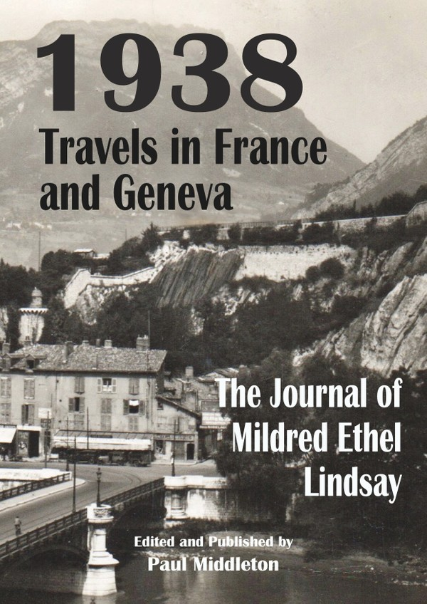 1938 Travels in France and Geneva