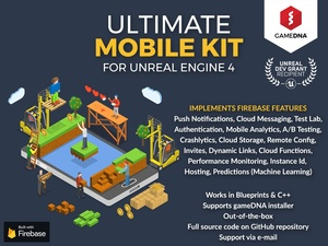 Ultimate Mobile Kit Firebase Plugin for UE4