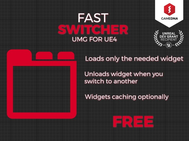 Fast Switcher UMG for UE4