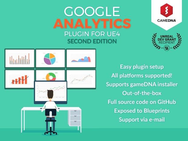 Google Analytics Provider Plugin for UE4