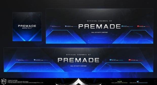 Premade Revamp Design Fully customizable