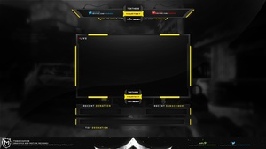 Overlay And Webcam And Logo Fully customizable !