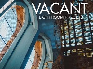 VACANT Lightroom Preset Pack