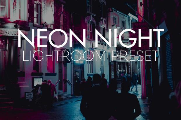 NEON NIGHT Lightroom Preset