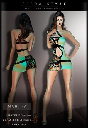 :: MARTHA DRESS ::