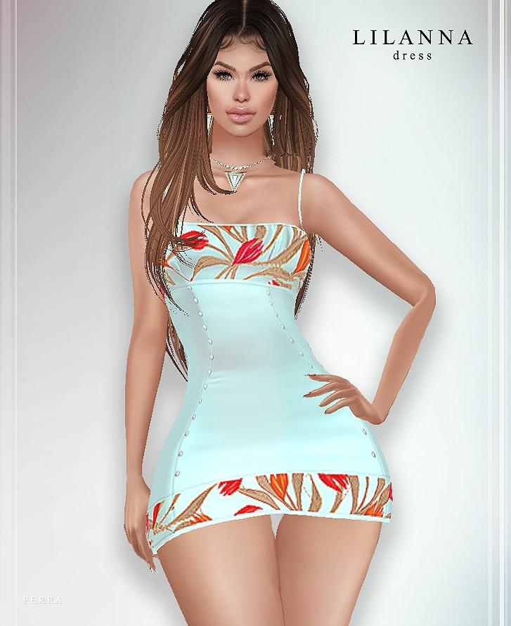 :: LILANNA DRESS ::