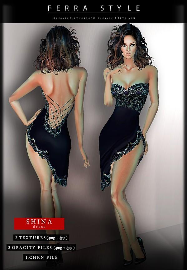 :: SHINA DRESS ::
