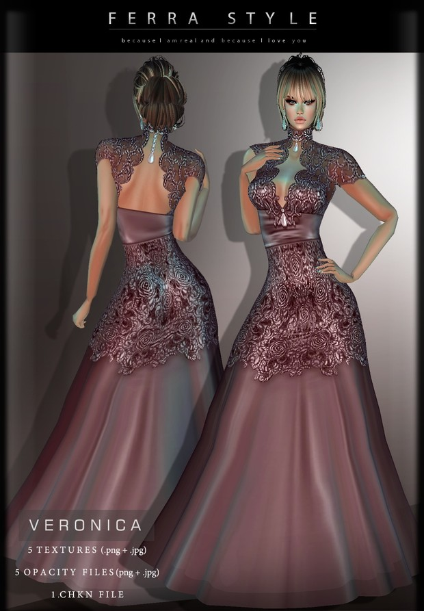 :: VERONICA GOWN ::