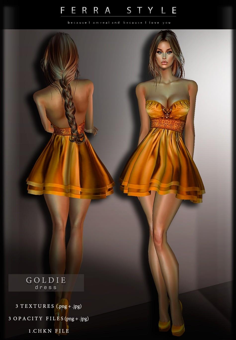 :: GOLDIE DRESS ::
