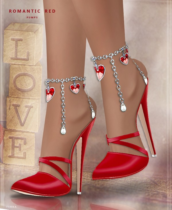 :: ROMANTIC RED PUMPS ::