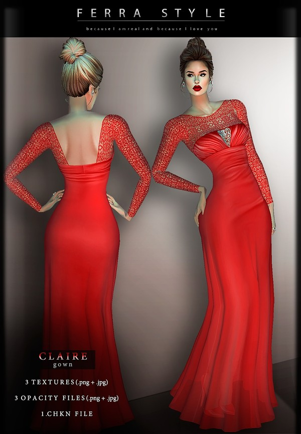 :: CLAIRE GOWN::