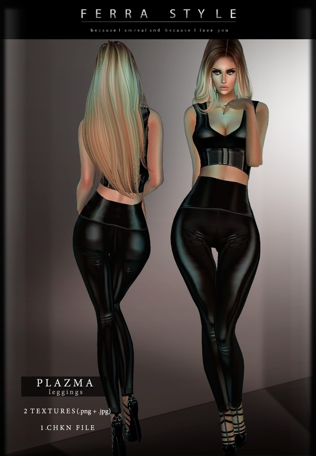 :: PLAZMA LEGGINGS :: (2 colours)