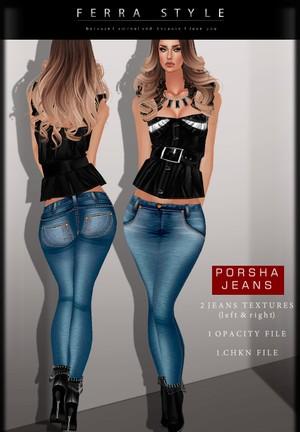 ::  PORSHA JEANS  ::