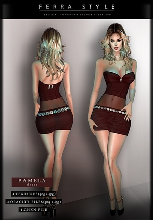 :: PAMELA DRESS ::
