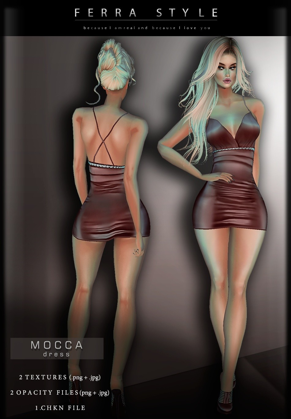 :: MOCCA DRESS ::