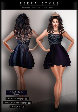 :: SABINA DRESS ::