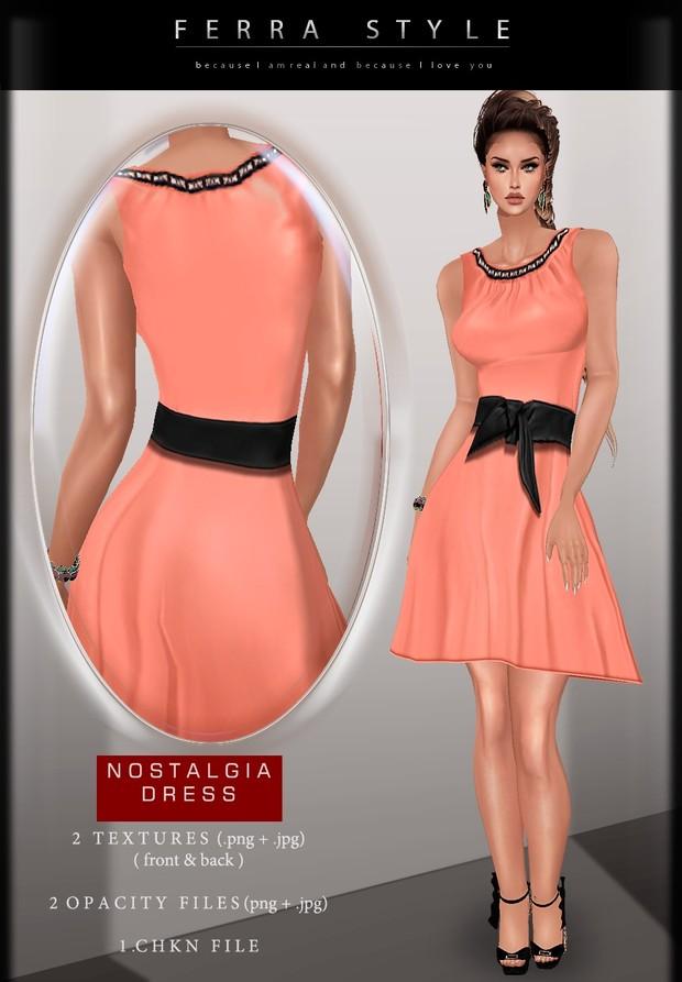 ::  NOSTALGIA DRESS  ::