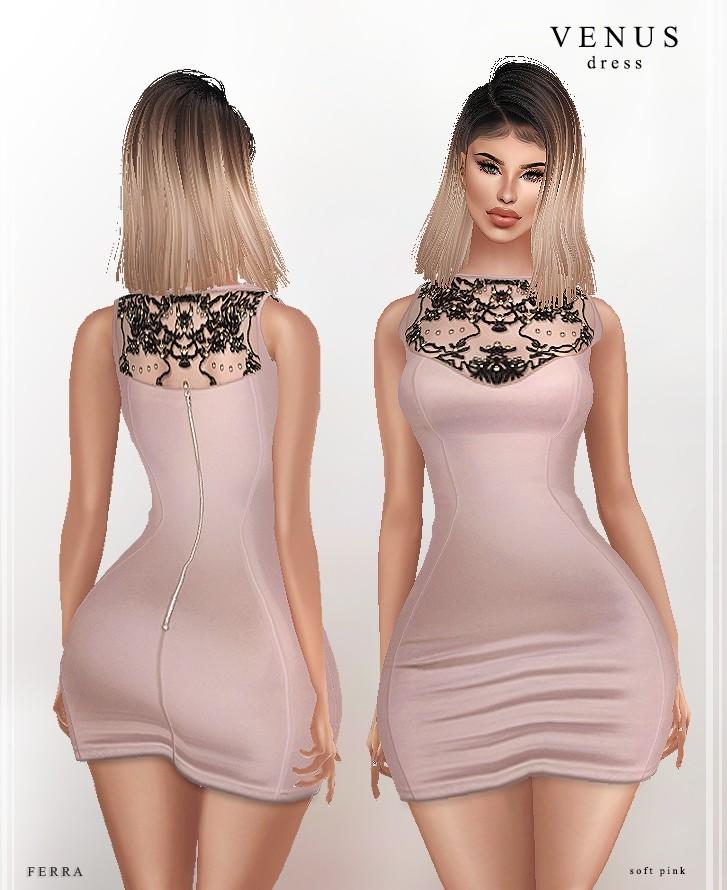 :: VENUS DRESS ::  ( 2 COLOURS )