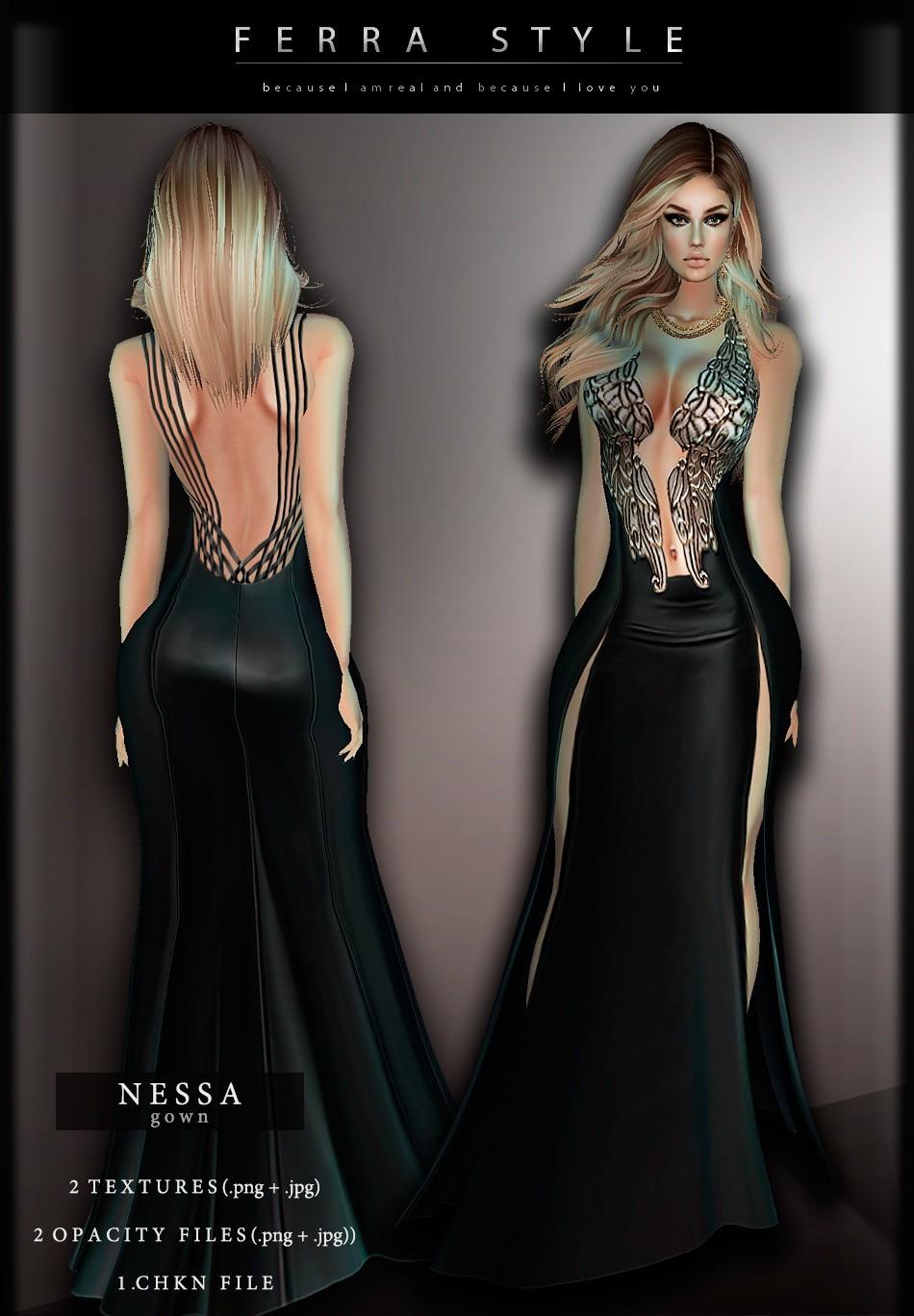 :: NESSA GOWN ::