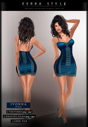 :: IVONNA DRESS ::