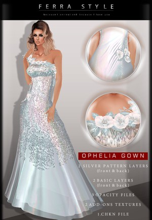 ::  OPHELIA GOWN  ::