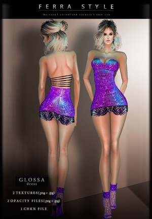:: GLOSSA DRESS ::