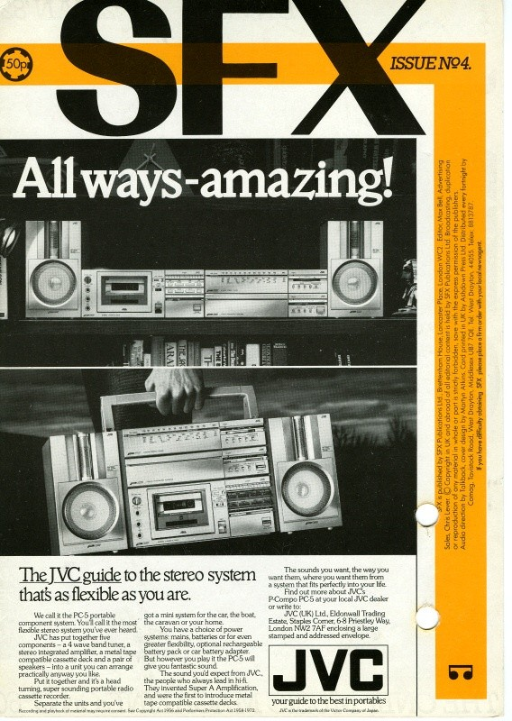 SFX AUDIO MAG 4 Side 2   Relive the 1980's