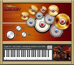 GSCW KIT by Duro Samples - vst for MAC