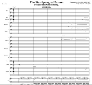 Star-Spangled Banner - FULL ORCHESTRA/CHOIR Parts+score