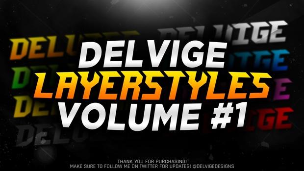 Delvige's Layerstyles - Volume #1
