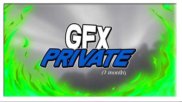 Private Minecraft GFX (1 month)