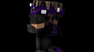 1 Minecraft render (C4D)