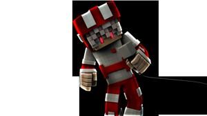 1 Minecraft Render (C4D + PhotoShop)