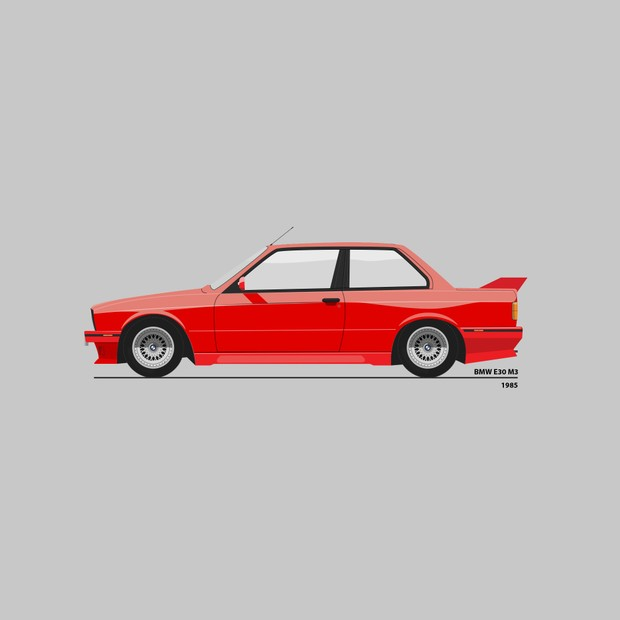 BMW-century collection - 42 detailed vector models - Ai file