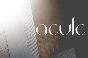 Acute Font Family Pro