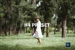 H4 | LR preset