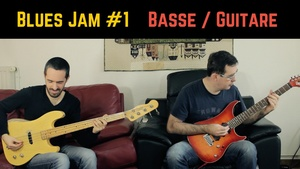 Blues Jam #1 - Bass Tab