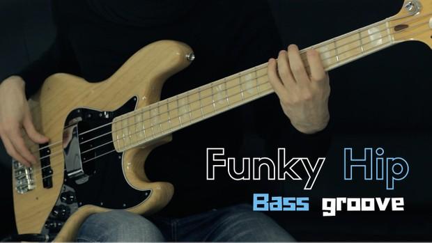 Funky Hip Bass Groove - Tab