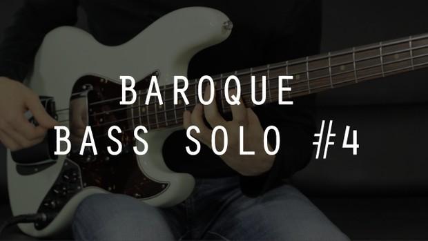 Baroque Bass Solo #4