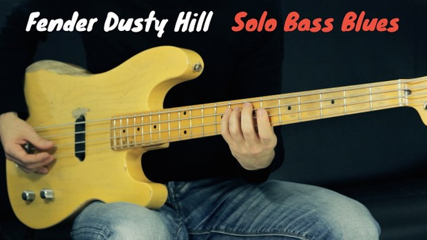 Bass Blues Solo - Tab + Playbacks